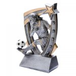 3-D Star Resin Award -Soccer 3D Star - Click Here for More of This Style
