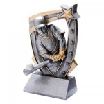 3-D Star Resin Award -Baseball 3D Star - Click Here for More of This Style
