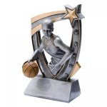 3-D Star Resin Award -Basketball 3D Star - Click Here for More of This Style