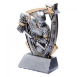 3-D Star Resin Award -Hockey 3D Star - Click Here for More of This Style