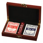 Rosewood Card and Dice Set Card Sets - Click Here For More