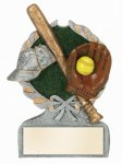 Multi Color Sport Resin Figure -Softball Centurion Award- Click Here for More of This Style