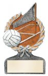 Multi Color Sport Resin Figure -Volleyball Centurion Award- Click Here for More of This Style