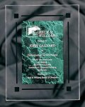 Green Marble Acrylic Award Recognition Plaque Color Acrylic - Click Here for More Styles