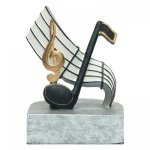 Resin Sculptures -Music  Color Tek - Click Here for More of This Style