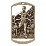Dog Tag Medals -Cross Country  Cross Country
