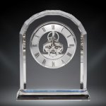 Crystal Template Clock Desk Clocks - Click Here For More Styles