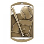 Dog Tag Medals -Baseball DT Series - Click Here for More Of This Style
