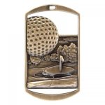 Dog Tag Medals -Golf DT Series - Click Here for More Of This Style