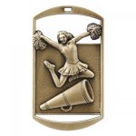 Dog Tag Medals -Cheer DT Series - Click Here for More Of This Style
