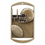 Dog Tag Medals -Football DT Series - Click Here for More Of This Style