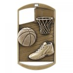 Dog Tag Medals -Basketball DT Series - Click Here for More Of This Style