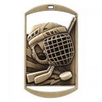 Dog Tag Medals -Hockey DT Series - Click Here for More Of This Style