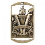 Dog Tag Medals -Victory  DT Series - Click Here for More Of This Style