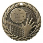 FE Series Medals -Volleyball  FE Series - Click Here For More Of This Style