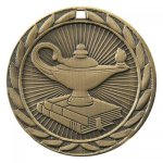 FE Series Medals -Lamp of Knowledge  FE Series - Click Here For More Of This Style