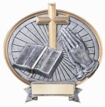 Legend Oval Award -Religion Oval Resins - Click Here for More of This Style