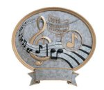 Legend Oval Award -Music Oval Resins - Click Here for More of This Style