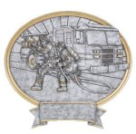 Legend Oval Award -Firefighter Oval Resins - Click Here for More of This Style