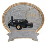 Legend Oval Award -BBQ Grill Oval Resins - Click Here for More of This Style
