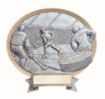 Legend Oval Award -Ice Hockey Oval Resins - Click Here for More of This Style