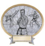 Legend Oval Award -Karate Oval Resins - Click Here for More of This Style