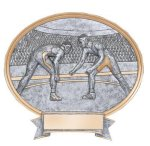 Legend Oval Award -Wrestling Oval Resins - Click Here for More of This Style