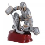 Hockey Goalie Resin Awards RFC  Award - Click Here for More of This Style