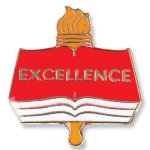Excellence Lapel Pin Scholastic Pins