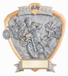 Signature Series Shield Award -Motocross Shields - Click Here for More of This Style