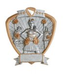 Signature Series Shield Award -Cheerleader Shields - Click Here for More of This Style