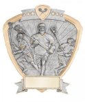 Signature Series Shield Award -Lacrosse Shields - Click Here for More of This Style