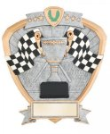 Signature Series Shield Award -Racing Flags Shields - Click Here for More of This Style