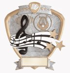Signature Series Shield Award -Music Shields - Click Here for More of This Style