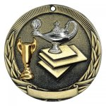 TR Series Medals -Lamp of Knowledge  TR Series - Click Here For More Of This Style
