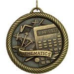 VM Medal -Mathematics VM Series - Click Here For More Of This Style