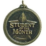 VM Medal -Student of the Month VM Series - Click Here For More Of This Style