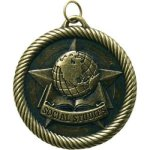 VM Medal  -Social Studies  VM Series - Click Here For More Of This Style