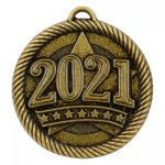 VM Series Medal - 2021 Date Gold VM Series - Click Here For More Of This Style