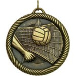 VM Medal  -Volleyball VM Series - Click Here For More Of This Style