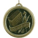VM Medal -Language Arts  VM Series - Click Here For More Of This Style