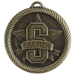 VM Medal -Spanish  VM Series - Click Here For More Of This Style