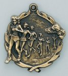 Wreath Medal -Cross Country Female Wreath Medal - Click Here For The 2 Styles
