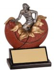 Xploding Resin -Basketball Female  Xploding Award - Click Here for More of This Style