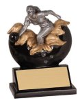 Xploding Resin -Bowling Female  Xploding Award - Click Here for More of This Style