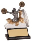 Xploding Resin -Cheer Female  Xploding Award - Click Here for More of This Style