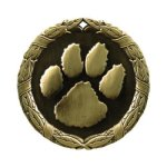 XR Medals -Paw Print  XR Series - Click Here For More Of This Style