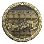 XR Medals -Perfect Attendance  XR Series - Click Here For More Of This Style