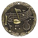 XR Medals -Music XR Series - Click Here For More Of This Style