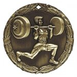 XR Medals -Weightlifter  XR Series - Click Here For More Of This Style